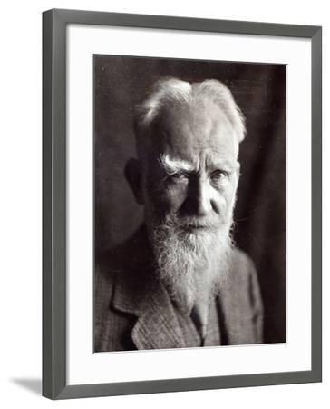 Portrait of George Bernard Shaw, February 1933-English Photographer-Framed Photographic Print