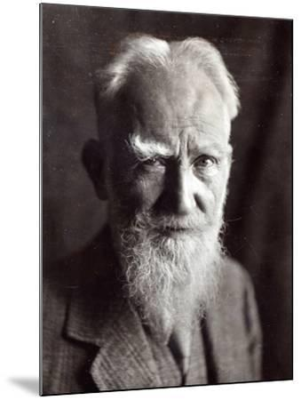 Portrait of George Bernard Shaw, February 1933-English Photographer-Mounted Photographic Print