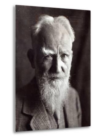 Portrait of George Bernard Shaw, February 1933-English Photographer-Metal Print