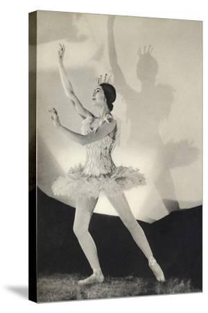 Dame Margot Fonteyn de Arias, from 'Footnotes to the Ballet', Published 1938--Stretched Canvas Print