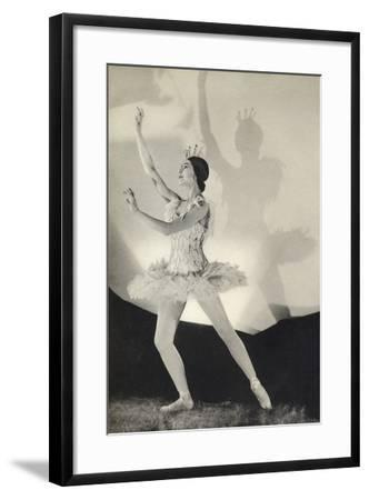 Dame Margot Fonteyn de Arias, from 'Footnotes to the Ballet', Published 1938--Framed Photographic Print