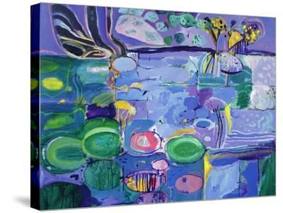 Giverny, 1990-92-Derek Balmer-Stretched Canvas Print