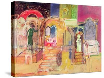 An Ancient Place, 2005-Derek Balmer-Stretched Canvas Print