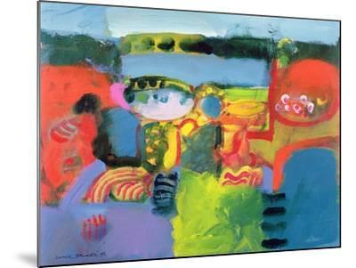 Estuary, 1990-Derek Balmer-Mounted Giclee Print