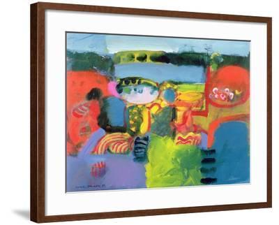 Estuary, 1990-Derek Balmer-Framed Giclee Print