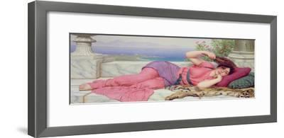 Noon Day Rest, 1910-John William Godward-Framed Giclee Print