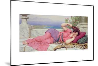 Noon Day Rest, 1910-John William Godward-Mounted Giclee Print