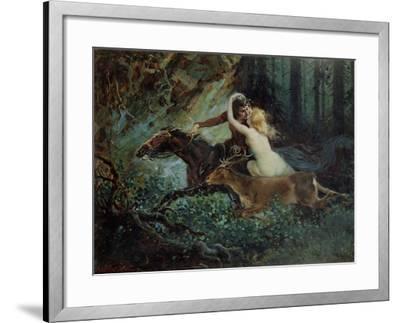 Elegy of Bohemia, 1917-Adolf Liebscher-Framed Giclee Print