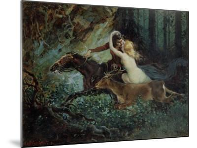 Elegy of Bohemia, 1917-Adolf Liebscher-Mounted Giclee Print