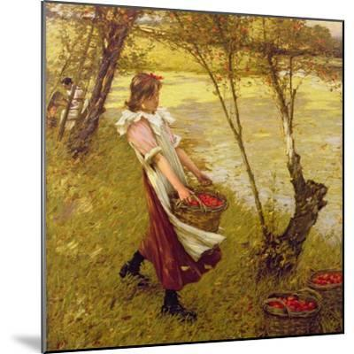 In the Orchard, Haylands, Graffham-Henry Herbert La Thangue-Mounted Giclee Print