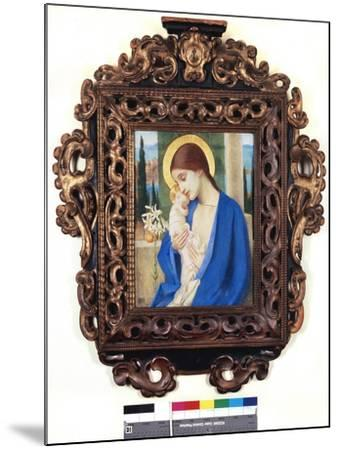 Madonna and Child, c.1905-Marianne Stokes-Mounted Giclee Print