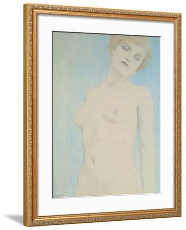 Female Nude-Fernand Khnopff-Framed Giclee Print