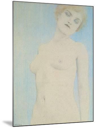 Female Nude-Fernand Khnopff-Mounted Giclee Print