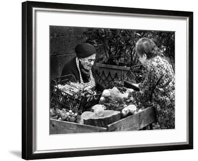 Italian Fruit Market, 2006--Framed Photographic Print