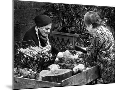 Italian Fruit Market, 2006--Mounted Photographic Print