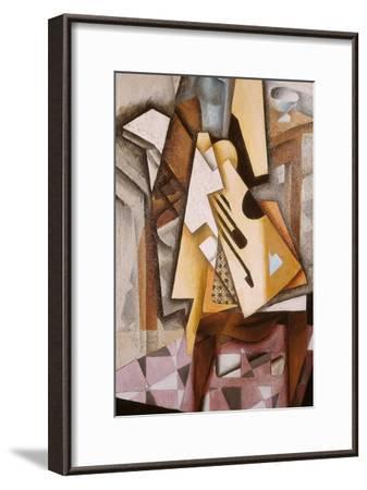 Guitar on a Chair-Juan Gris-Framed Giclee Print