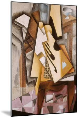 Guitar on a Chair-Juan Gris-Mounted Giclee Print