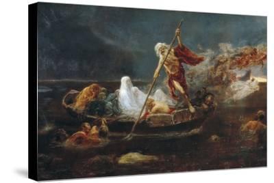 Charon's Boat-Jose Benlliure Y Gil-Stretched Canvas Print