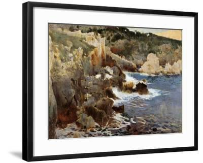 Enchanted Cove, Majorca, c.1901-Joaquin Mir Trinxet-Framed Giclee Print