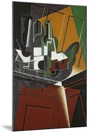 The Sideboard, 1917-Juan Gris-Mounted Giclee Print