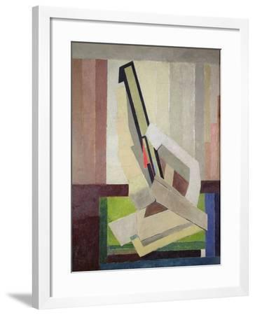 Vorticist Composition, c.1914-15-Lawrence Atkinson-Framed Giclee Print