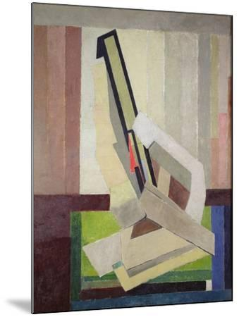 Vorticist Composition, c.1914-15-Lawrence Atkinson-Mounted Giclee Print