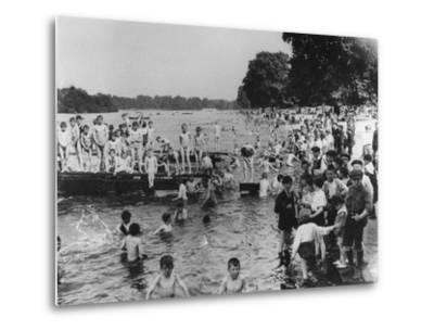 Serpentine Bathers, 1-6 pm-Thomas E. & Horace Grant-Metal Print
