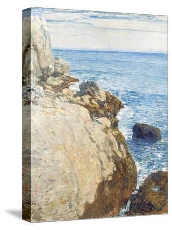 The East Headland, Appledore - Isles of Shoals, 1908-Childe Hassam-Stretched Canvas Print