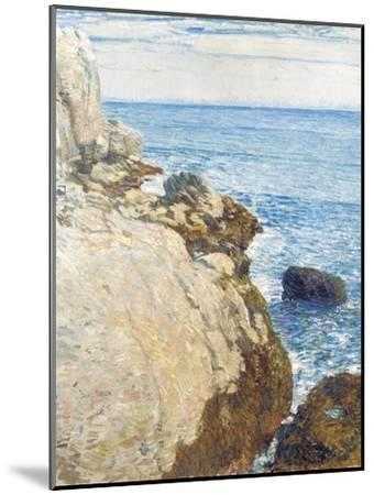 The East Headland, Appledore - Isles of Shoals, 1908-Childe Hassam-Mounted Giclee Print