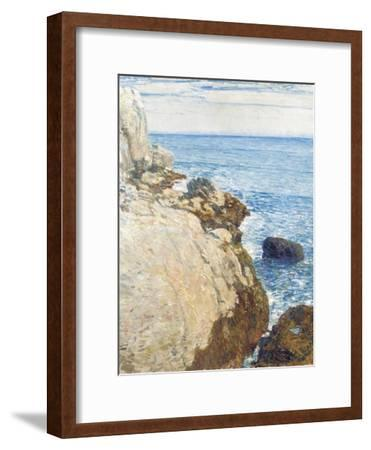 The East Headland, Appledore - Isles of Shoals, 1908-Childe Hassam-Framed Giclee Print