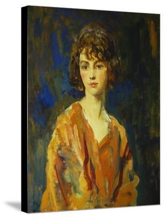 The Hon. Lois Stuart II, 1920-Ambrose Mcevoy-Stretched Canvas Print