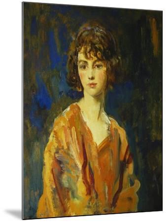 The Hon. Lois Stuart II, 1920-Ambrose Mcevoy-Mounted Giclee Print
