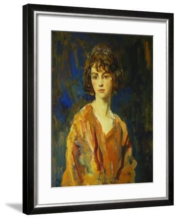 The Hon. Lois Stuart II, 1920-Ambrose Mcevoy-Framed Giclee Print