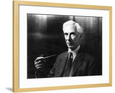 Bertrand Russell-English Photographer-Framed Photographic Print
