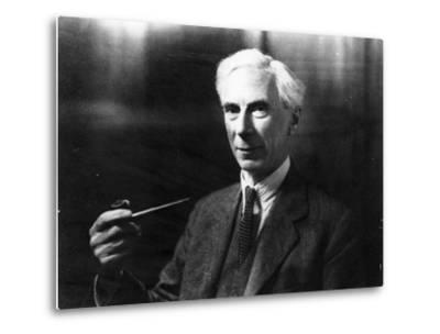 Bertrand Russell-English Photographer-Metal Print