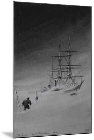 The 'Discovery' in Winterquarters, 1903-Edward Adrian Wilson-Mounted Giclee Print