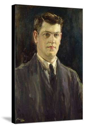 Michael Collins-Sir John Lavery-Stretched Canvas Print