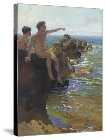 Ship Ahoy!-Paul von Spaun-Stretched Canvas Print