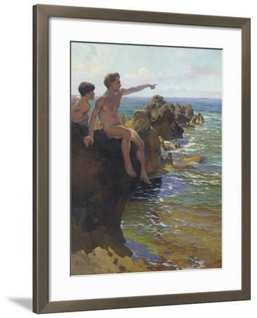 Ship Ahoy!-Paul von Spaun-Framed Giclee Print
