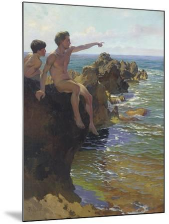 Ship Ahoy!-Paul von Spaun-Mounted Giclee Print