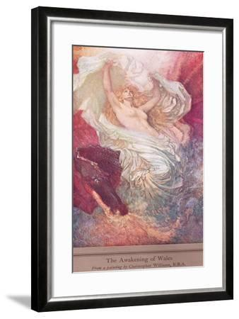 The Awakening of Wales, c.1915-Christopher Williams-Framed Giclee Print
