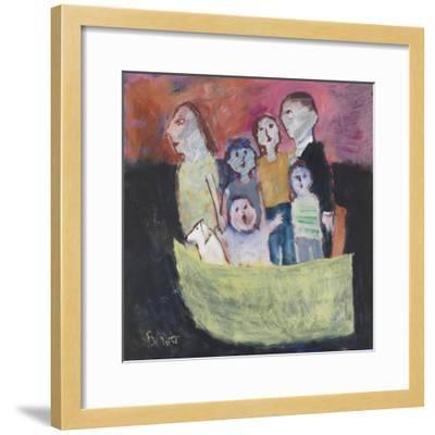 Nuclear Family; 2011-Susan Bower-Framed Giclee Print