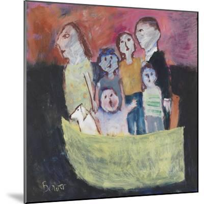 Nuclear Family; 2011-Susan Bower-Mounted Giclee Print