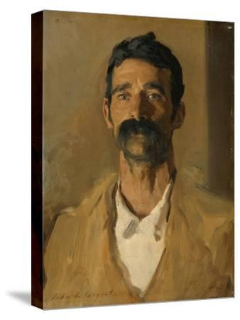 Study of a Sicilian Peasant, 1907-John Singer Sargent-Stretched Canvas Print