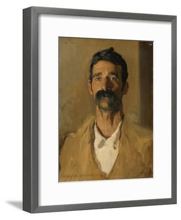 Study of a Sicilian Peasant, 1907-John Singer Sargent-Framed Giclee Print