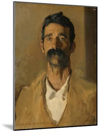 Study of a Sicilian Peasant, 1907-John Singer Sargent-Mounted Giclee Print