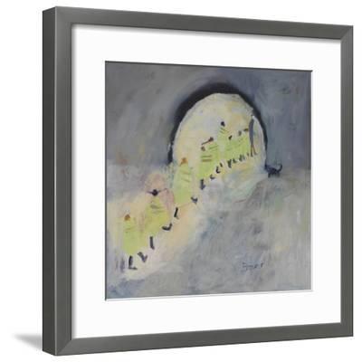 Walking Bus II, 2011-Susan Bower-Framed Giclee Print
