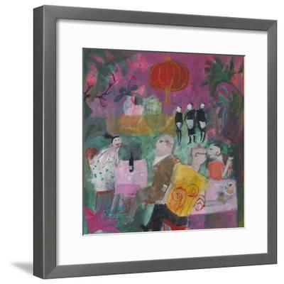 Out for a Chinese, 2011-Susan Bower-Framed Premium Giclee Print
