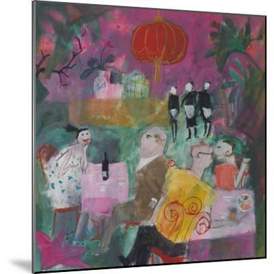 Out for a Chinese, 2011-Susan Bower-Mounted Premium Giclee Print