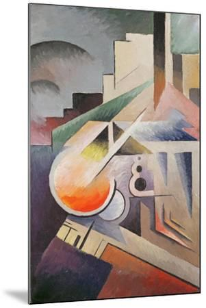 Composition-Viking Eggeling-Mounted Giclee Print